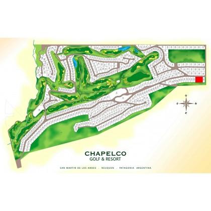 T135 EXCELENTES 3 LOTES LINDEROS - CHAPELCO GOLF 2500 m2 c/u