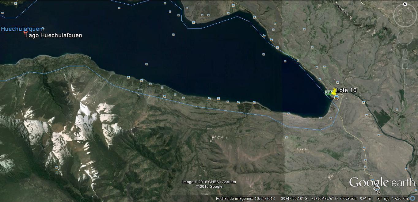 T184 - Excelente lote 853 m2 en exclusiva fracción frente al Lago Huechulafquen